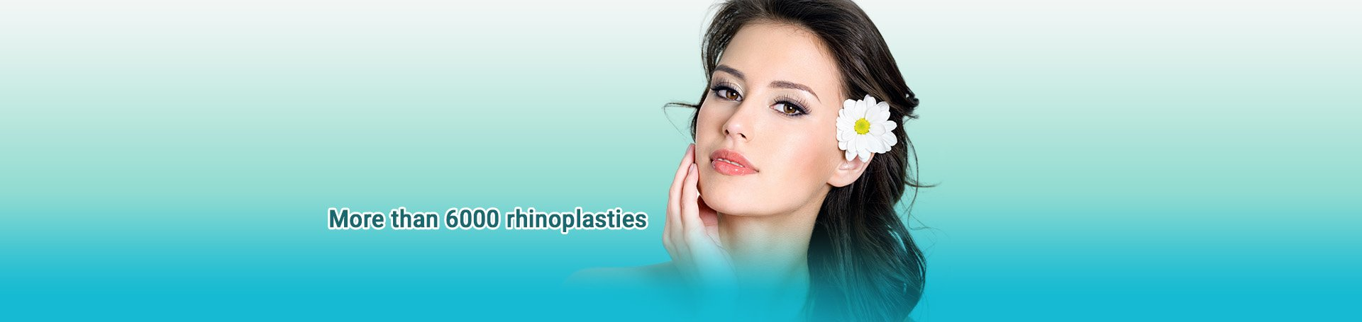 More than 6000 rhinoplasties